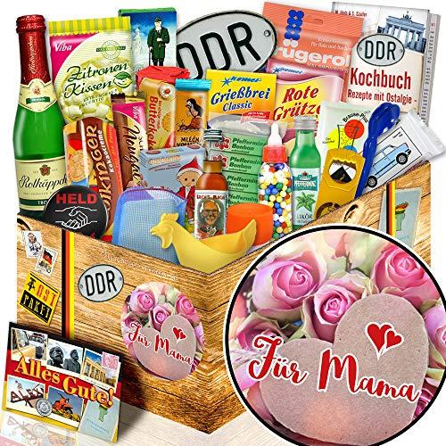 Für Mama / Geschenkbox Ossi 24x Allerlei DDR / Mama Geschenkbox