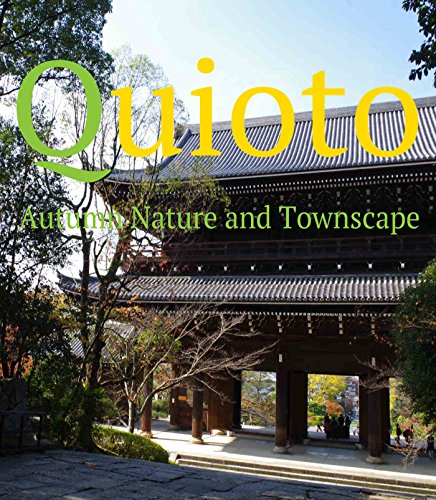 Quioto Autumn Nature and Townscape
