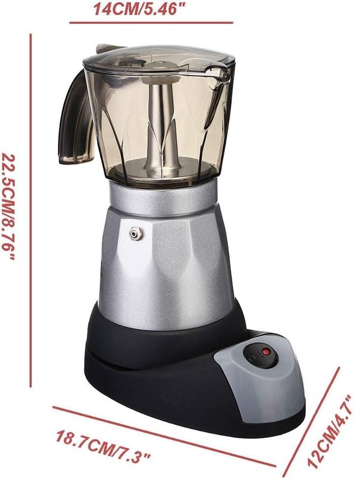 Bouilloire électrique portable café expresso italien Mocha Machine à café percolateurs électrique Moka Pot (Color : Green) Green