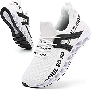 Sponsored Ad - SKDOIUL Sport Running Shoes for Mens Mesh Breathable Trail Runners Fashion Sneakers
