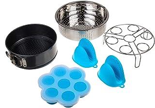 CCChaRLes 5Pcs Accessoires De Rechange Pour Bagues D'Étanchéité En Silicone Pour Pot En Acier Inoxydable