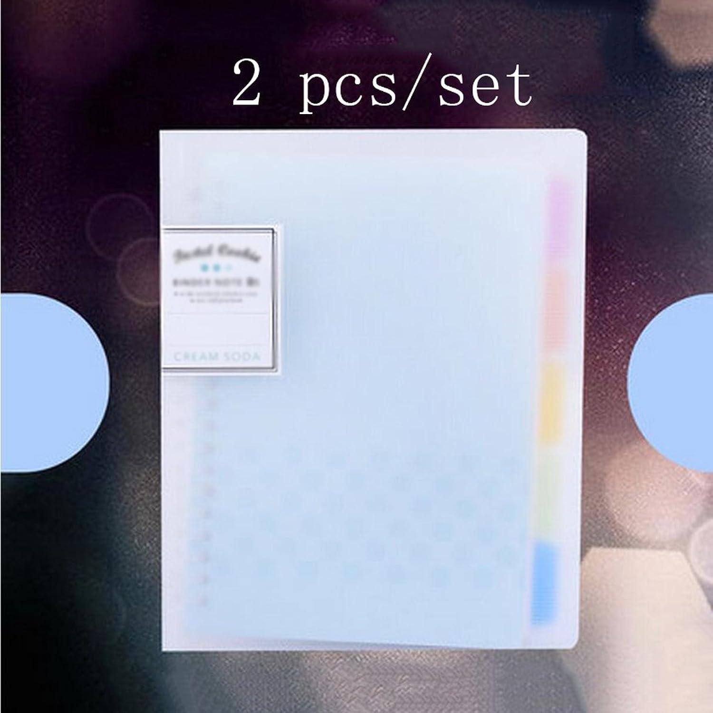 Liu Yu·Bürofläche, Büro Schreibwaren liefert blau blau blau 40 Seiten Notebook Mode B5 dicke Notebook 2 Stück   Set B06XR7KSTM | Reichhaltiges Design  d71cbc