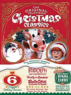 Christmas Classics - The Original Television Christmas Classics: (Rudolph the Red-Nosed Reindeer/Santa Claus Is Comin' to Town/Frosty the Snowman/Frosty Returns/The Little Drummer Boy/ and more)