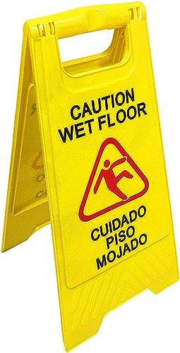 "English & Spanish""Wet Floor"" Sign   290391-BAI"