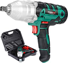POSENPRO 1/2 in.Drive Electric Impact Wrench Set Drive Tool with 320N.m Max Torque 450W Corded Impact Gun