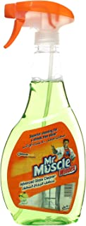 Mr. Muscle Windex Advanced Glass Cleaner, Lime - 500 ml