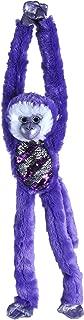 Wild Republic Sequin Monkey Plush, Stuffed Animal, Sensory Plush Toy, Gifts for Kids, Green, 22 inches