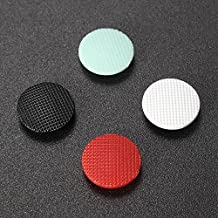 Replacement 3D Analog Joystick Thumb Button Stick Cap Cover Grips for Sony PSP 1000 (1x Red 1xLight Green 1x Black 1x White)