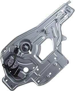 APDTY 850425 Power Window Regulator 2001-2006 Hyundai Santa Fe Regulator Only Fits Front Left Replaces 82405-26000, 8240526000, 82405 26000 Driver-Side Front