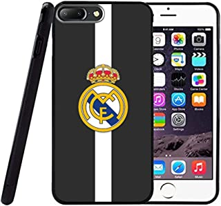 Saul&Dunn Real Madrid Black and White iPhone 7 Plus & iPhone 8 Plus Case Graphic Drop-Proof Durable Slim Soft TPU Cover