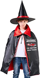 May Look Like Gran Torino Starsky and Hutch Unisex Kids Hooded Cloak Cape Halloween Party Decoration Role Cosplay Costumes Outwear Red