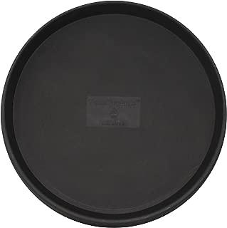 Tusco Products TR22BK Round Saucer, 22-Inch Diameter, Black