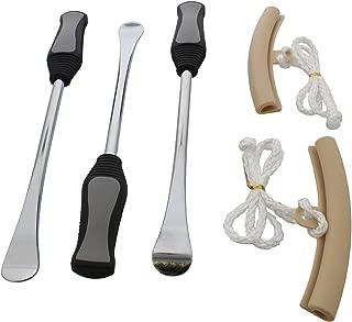 ABN Tire Repair Spoon Lever Removal Installer Tool & Rim Protector Sheath 5 pc Set – Bicycle, Dirt Bike, Motorcycle