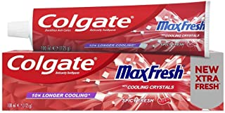 Colgate Max Fresh Spicy Toothpaste with Cooling Crystals - 100ml