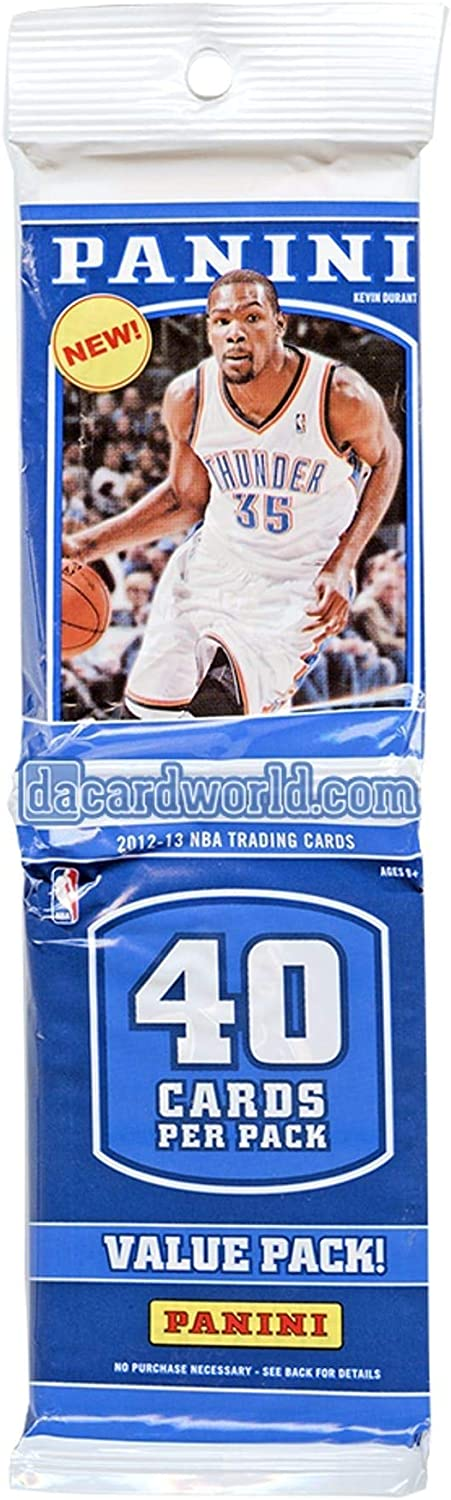 New popularity Inventory cleanup selling sale 2012-13 Panini Basketball FACTORY SEALED Rack Pack Value Chanc -