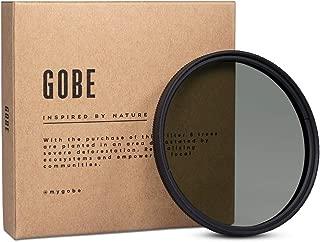 Gobe CPL 62mm Schott 16-Layer Multi-Coated Polarized Filter