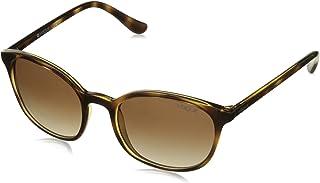 Vogue Round Women'S Sunglasses - Vo5051S-W65613-52-52-20-140 - Dark Havana/Browngradient