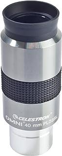 Celestron 93325 40mm Omni Eyepiece (Silver/Black)