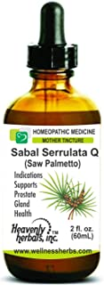 Sponsored Ad - Sabal Serrulata Q - Mother Tincture – Supports Prostate Gland Health – Made in USA – 2 fl. Oz – Homeopathic...