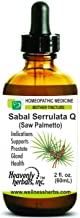 Sabal Serrulata Q - Mother Tincture – Supports Prostate Gland Health – Made in USA – 2 fl. Oz – Homeopathic Medicine (Alcoholic Extract)