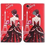 TienJueShi Dream girl Book-Style Flip Leather Protector
