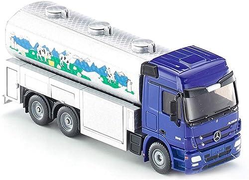 Lingling Bauernhof Serie Simulation Modell Legierung Kinderspielzeug Szene Modell Spielzeug Geburtstag Weißnachten Neujahr Geschenke Milchtanker (Farbe   Car Model)