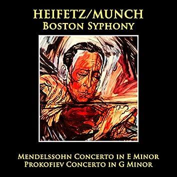 Mendelssohn: Concerto / Prokofiev: Concerto