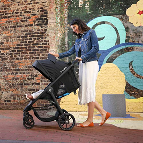 Image of Britax B-Clever Stroller - Upto 50 Pounds - Cool Flow Ventilated Fabric, Teal