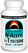 Source Naturals N-Acetyl L-Tyrosine Dietary Supplement - 120 Tablets