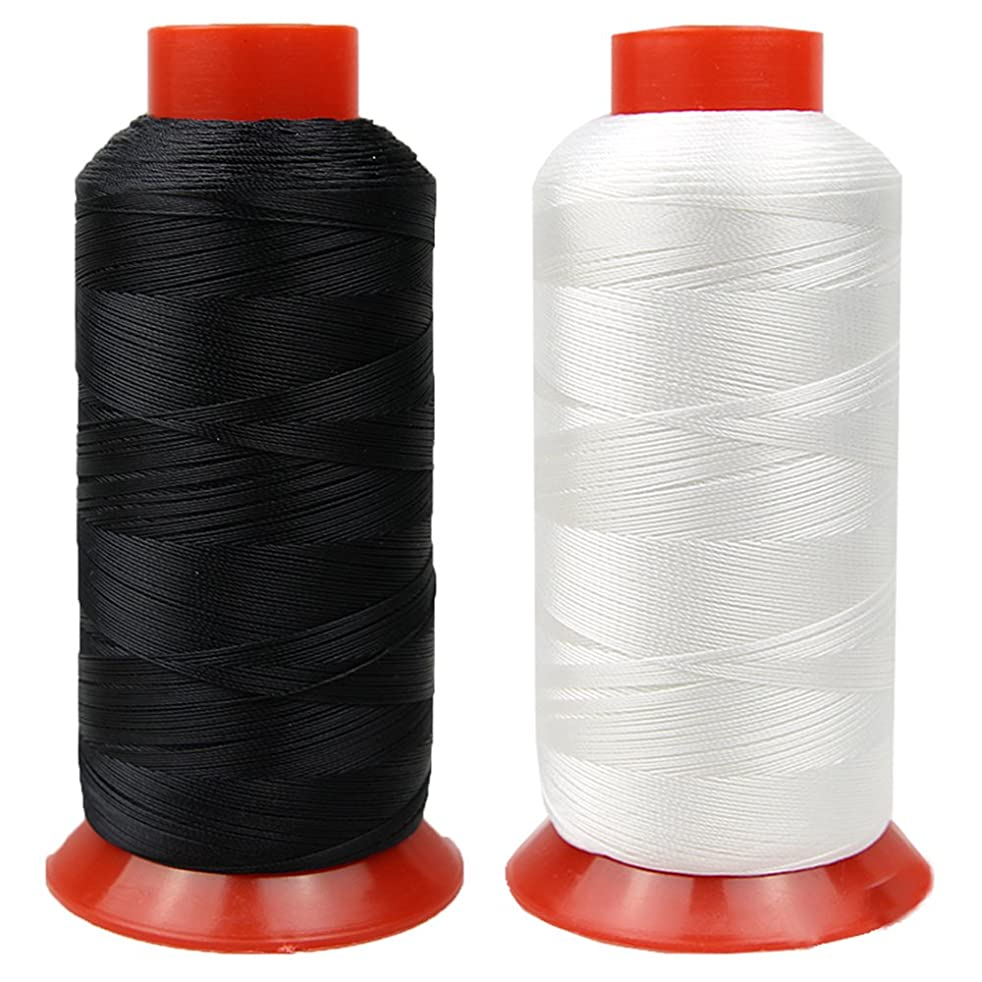 Nylon Thread High Strength Heavy Duty Sewing Thread for Upholstery, Leather, Webbing, Canvas