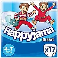 Dodot Happyjama Pañales niño, 4-7 años, 17 uds