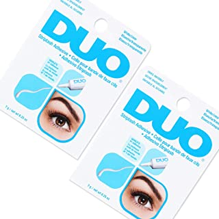 DUO Clear False Lash Adhesive 0.25 oz x 2 packs