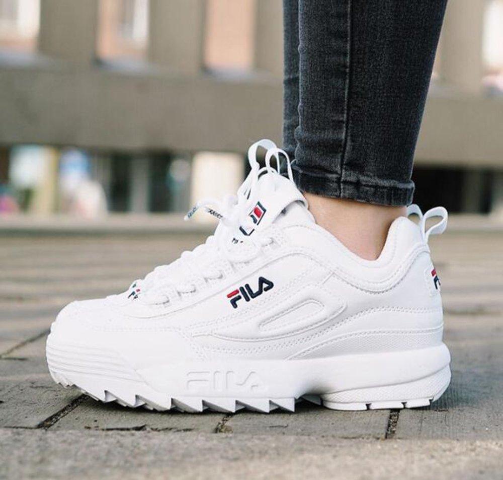 Zapatos Deportivos Femeninos FILA Disruptor II Zapatos