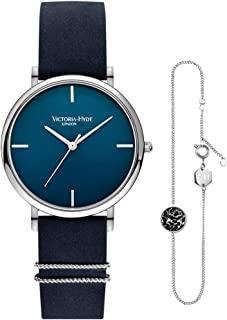 VICTORIA HYDE Mujer Pulseras Reloj Set Cuarzo analógico Reloj