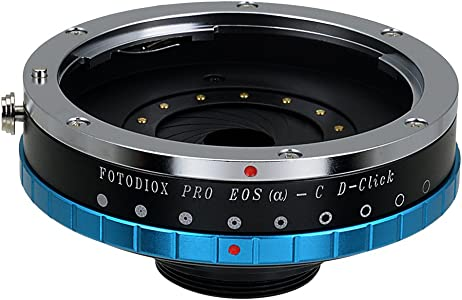 Fotodiox Pro Lens Mount Adapter with Built-in De-Clicked Aperture Iris...