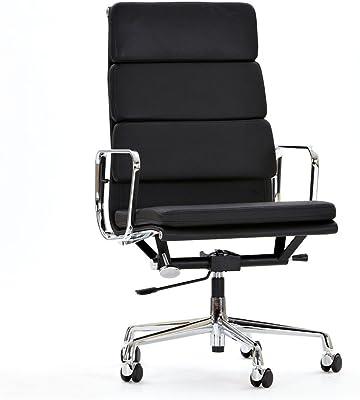 mueblespacio Sillón oficina lucia Piel - MSD15437063 - Negro
