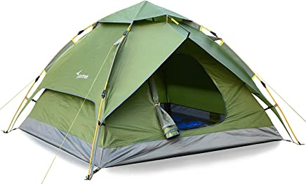 Sportneer Camping Tent 2-3 Person Automatic Instant Pop...