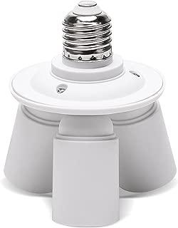 JACKYLED 3 in 1 Light Socket Splitter
