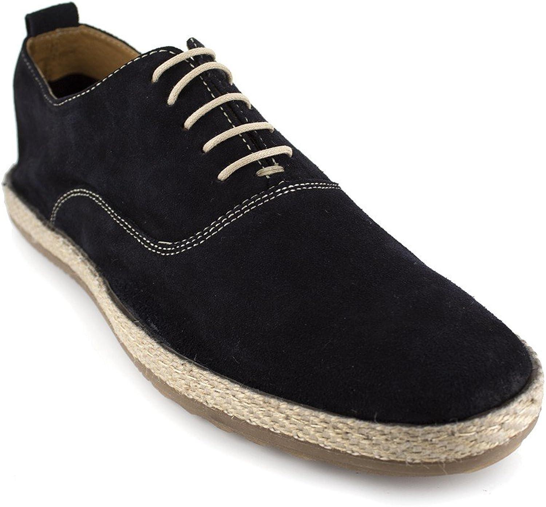 J.Bradford Richelieu Navy bluee Leather JB-TROPAS