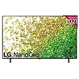 LG NanoCell 65NANO85-ALEXA 2021-Smart TV 4K UHD 164 cm (65') con Inteligencia Artificial, Procesador Inteligente α7 Gen4, Deep Learning, 100% HDR, Dolby ATMOS, HDMI 2.1, USB 2.0, Bluetooth 5.0, WiFi