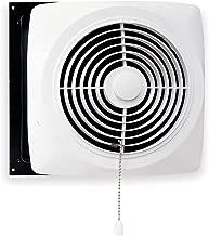 Broan-Nutone  506  Chain-Operated Ventilation Fan, Plastic White Square Exhaust Fan, 7.5 Sones, 430 CFM, 10