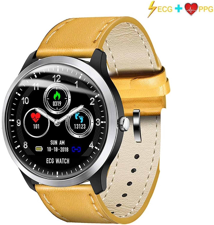 HYLH Blautooth Smartwatch, Smartwatches Touchscreen-Steuerung Benachrichtigung über eingehende Anrufe, Erinnerung an Nachrichten, Erinnerung an Alarme, Kompatibel für Android und iPhone