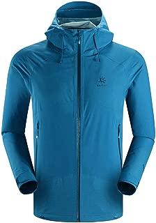 KAILAS Men's Lightweight Softshell Jacket Rekking Hardshell Fleece Lined Waterproof Windproof Tactical Jackets Full Zip Hiking Work
