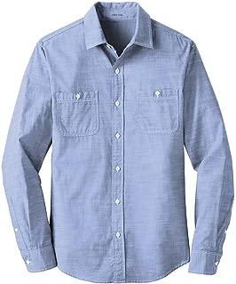 Joe's USA Slub Chambray Shirt Sizes XS-4XL