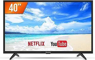 "Smart TV LED 40"" Panasonic TC-40FS500B Full HD 2 USB, 2 HDMI Preta"