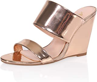 Women's High Wedge Dress Sandal Shoe
