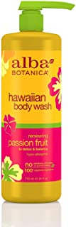 Alba Botanica Renewing Passion Fruit Hawaiian Body Wash, White , 24 oz.