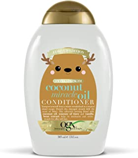 OGX Holiday 2019 limited edition coconut miracle oil conditioner, 13 Fl Oz