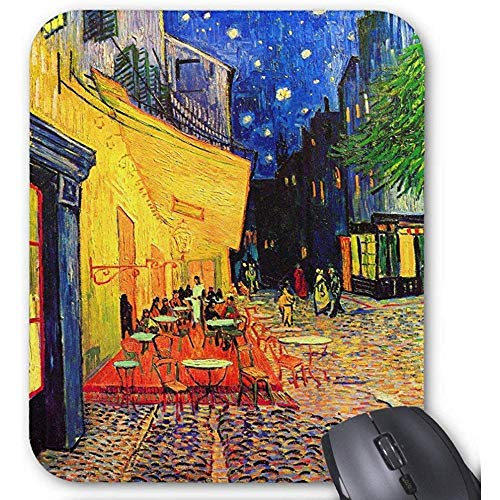 Cafe Terrasse Platz du Forum Van Gogh Fine Art Mauspad