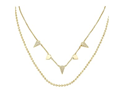 Kendra Scott Demi Multi Strand Necklace (Gold Metal) Necklace